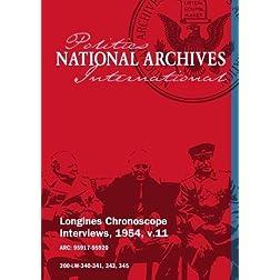Longines Chronoscope Interviews, 1954, v.11: Richard Casey, Albert Cole