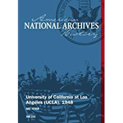 UNIVERSITY OF CALIFORNIA AT LOS ANGELES (UCLA), 1948