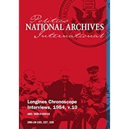 Longines Chronoscope Interviews, 1954, v.10: Percy Spender, Samuel Brownell