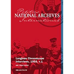 Longines Chronoscope Interviews, 1955, v.1: Tingfu Tsiang, Chauncey Reed