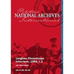 Longines Chronoscope Interviews, 1955, v.2: Gen. Romulo, Georges Bissonnette