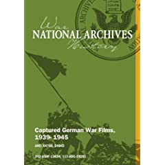 CAPTURED GERMAN FILM, 1939 - 1945