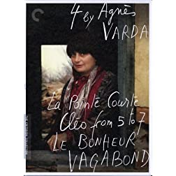 4 by Agns Varda (La Pointe Courte, Clo from 5 to 7, Le bonheur, Vagabond) -  Criterion Collection