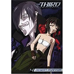 The Third: The Girl with the Blue Eye, Vol. 4: Desert Phantom