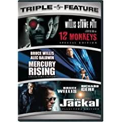 12 Monkeys / Mercury Rising / The Jackal (Triple Feature)