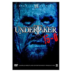 WWE - Undertaker 15-0