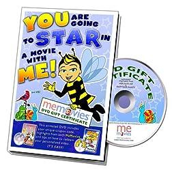 MeMovies Gift Certificate DVD Kit