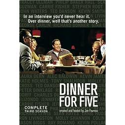 Dinner For Five: Season Three