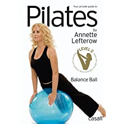 Pilates balance ball by Annette Lefterow (PAL)