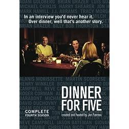 Dinner For Five: Season Four