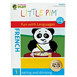 Little Pim: Eating and Drinking (French)