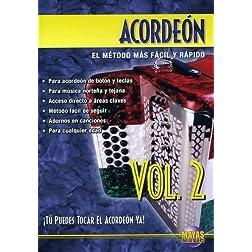Acordeón, Vol 2: ¡Tú Puedes Tocal El Acordeón Ya! (Spanish Language Edition) (DVD)
