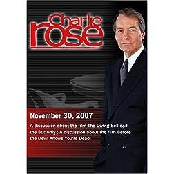 Charlie Rose (November 30, 2007)