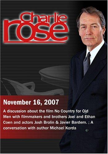 Charlie Rose - No Country for Old Men / Michael Korda (November 16, 2007)
