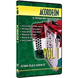 Acorden, Vol 1: T Puedes Tocal El Acorden Ya! (Spanish Language Edition) (DVD)
