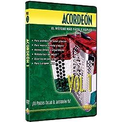 Acordeón, Vol 1: ¡Tú Puedes Tocal El Acordeón Ya! (Spanish Language Edition) (DVD)