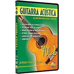 Guitarra Acústica, Vol 2: ¡Tú Puedes Tocar La Guitarra Ya! (Spanish Language Edition) (DVD)