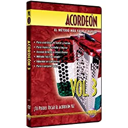 Acorden, Vol 3: T Puedes Tocal El Acorden Ya! (Spanish Language Edition) (DVD)