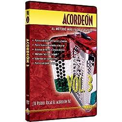 Acordeón, Vol 3: ¡Tú Puedes Tocal El Acordeón Ya! (Spanish Language Edition) (DVD)