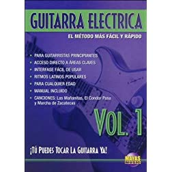 Guitarra Eléctrica, Vol 1: ¡Tú Puedes Tocar La Guitarra Ya! (Spanish Language Edition) (DVD)