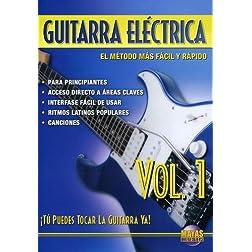 Guitarra Eléctrica, Vol 1: ¡Tú Puedes Tocar La Guitarra Ya! (Spanish Language Edition) (DVD)