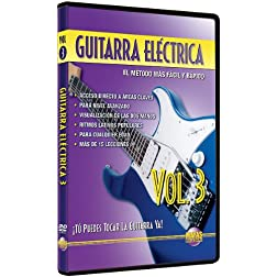 Guitarra Eléctrica, Vol 3: ¡Tú Puedes Tocar La Guitarra Ya! (Spanish Language Edition) (DVD)