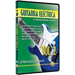 Guitarra Eléctrica, Vol 2: ¡Tú Puedes Tocar La Guitarra Ya! (Spanish Language Edition) (DVD)