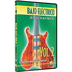 Bajo Elctrico, Vol 2: T Puedes Tocar El Bajo Ya! (Spanish Language Edition) (DVD)