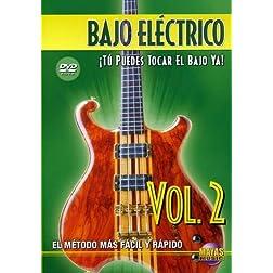 Bajo Eléctrico, Vol 2: ¡Tú Puedes Tocar El Bajo Ya! (Spanish Language Edition) (DVD)