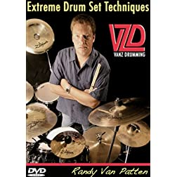 Drum Lessons: Extreme Drum Set Techniques. Essential drum grooves, fills, dynamics and more