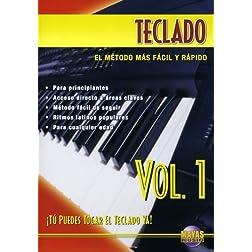 Teclado, Vol 1: ¡Tú Puedes Tocar El Teclado Ya! (Spanish Language Edition) (DVD)