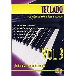 Teclado, Vol 3: ¡Tú Puedes Tocar El Teclado Ya! (Spanish Language Edition) (DVD)