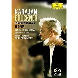Herbert Von Karajan: Bruckner - Symphonies 8 & 9