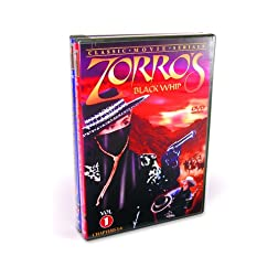 Zorro's Black Whip, Vol. 1 and 2