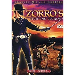 Zorro's Fighting Legion, Vol. 1 and 2