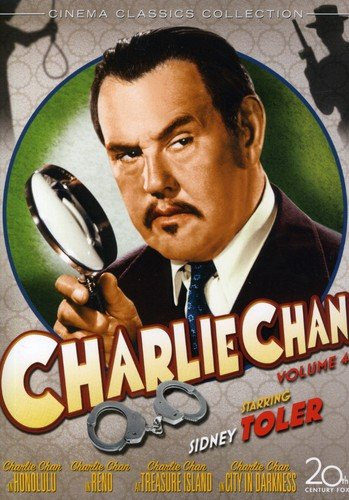 Charlie Chan Collection, Vol. 4 (Charlie Chan in Honolulu / Charlie Chan in Reno / Charlie Chan at Treasure Island / City in Darkness) (4DVD)