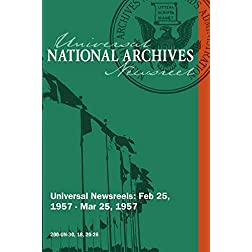 Universal Newsreel Vol. 30 Release 18, 20-26 (1957)
