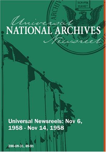 Universal Newsreel Vol. 31 Release 89-91 (1958)