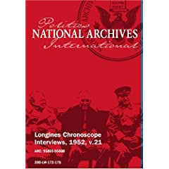 Longines Chronoscope Interviews, 1952, v.21: DAN KIMBALL, REP. HALE B0GGS