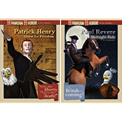Patrick Henry And Paul Revere Gift Set