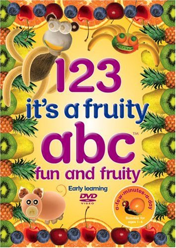 123 It's a Fruity ABC - Early Learning - Healthy Eating - Preschool - Phonics