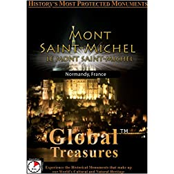 Global Treasures  MONT SAINT MICHEL Le Mont Saint Michel Bretagne, France
