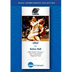 1989 NCAA Division I Men's Basketball Regional Final - UNLV vs. Seton Hall