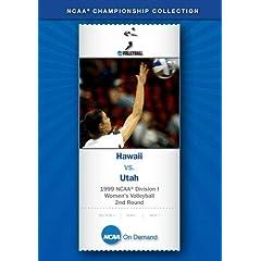 1999 NCAA Division I Women's Volleyball 2nd Round - Hawaii vs. Utah