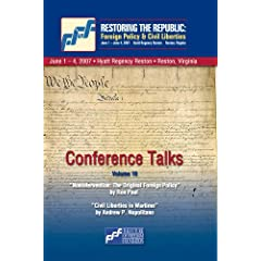 DVD Restoring the Republic 2007: Volume 10 - Ron Paul and Andrew P. Napolitano