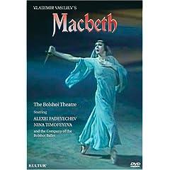 Macbeth / Kirill Molchanov, Vladimir Vasiliev, Bolshoi Ballet