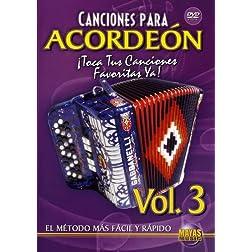 Canciones Para Acordeon 3