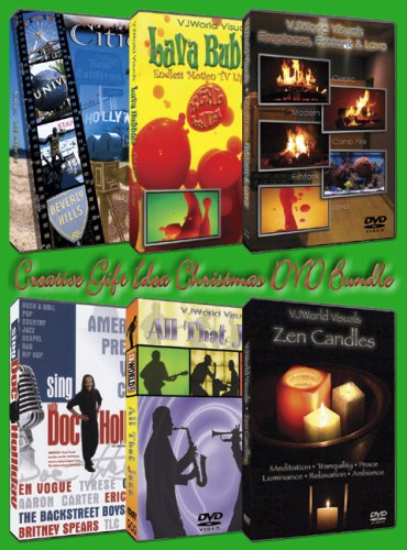 Creative Gift Idea Christmas DVD Bundle