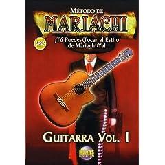 Metodo De Mariachi Guitarra 1: Spanish Only