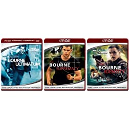 The Bourne Trilogy (The Bourne Identity / The Bourne Supremacy / The Bourne Ultimatum) [HD DVD] - Amazon.com Exclusive